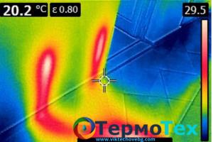 ТермоТех Откриване на течове с термокамера